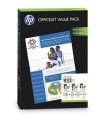 210702 - Original Valuepack Tinte color, No. 933XL, CR711AE HP