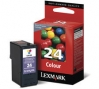 210785 - Original Tintenpatrone color No. 24, 18C1524E Lexmark