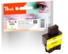 313876 - Peach Ink Cartridge yellow, compatible with LC-900Y Brother