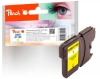 318583 - Peach XL Ink Cartridge yellow, compatible with LC-980Y, LC-1100Y Brother