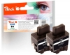 320080 - Peach Twin Pack Ink Cartridge black, compatible with LC-900bk*2 Brother