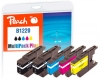 320220 - Peach Spar Plus Pack Tintenpatronen kompatibel zu LC-1220 Brother